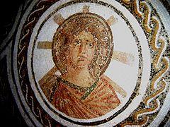 2nd century Apollo with halo