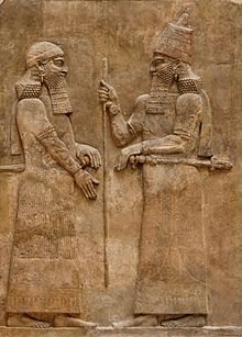 Shalmaneser dad of Sargon co rulers at first then Sargon ruler, then his son Senacherib - Assyrian kings from Hezekiah fwd