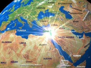 Light of Israel a map