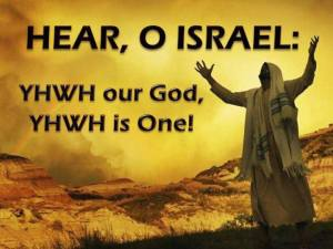 YHWH is One