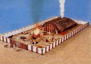 Temple of Tabernacle - Moses's day