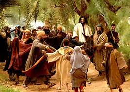 YhShua entering Yerushalim