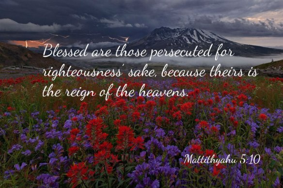 Persecuted rejoice