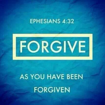 forgive as we have been forgiven