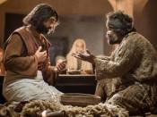 YHshua to wash Peters feet - their interaction