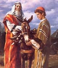 Age correct Abraham and Isaac