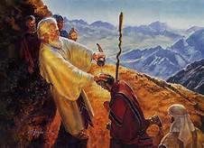 Moses anoints Yoheshua