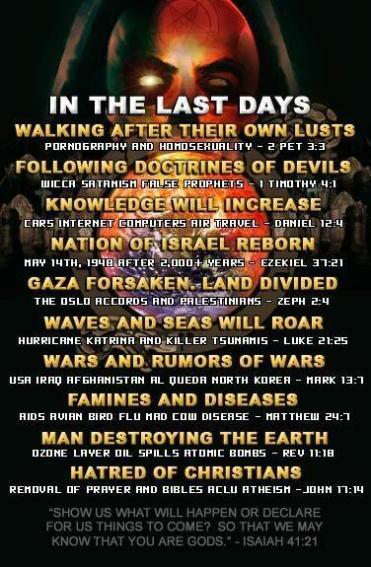 End day summary list