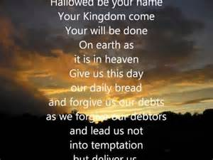 YHWH's prayer