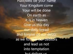 YHWH's prayer