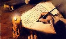 Apostle writing