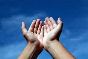 hands to sky
