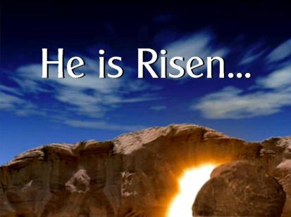 Stone light shines risen