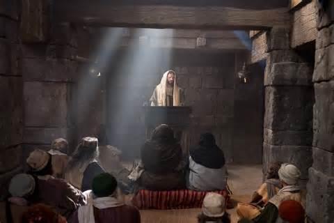 YH'shua in Synagogoue