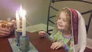 Little miss Sabbath candles