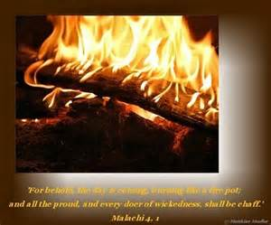 Malachi 4-1 pic of fire