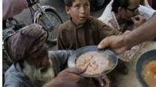 poor being fed