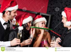 christmas-party-friends-have-fun-bar-27159855