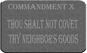 10th commandment dont covet