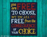 freedom to choose and answer for same