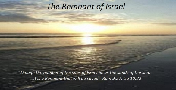 A REMNANT OF ISRAEL TO BE SAVED