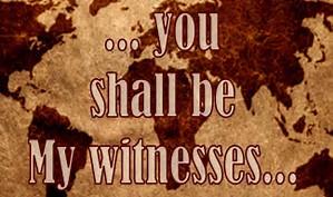 MY WITNESSES