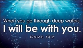 deep waters YHWH is there
