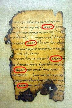 Ancient Hebrew Tetragrammaton YHWH