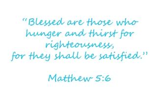 Mathew blessings in seeking