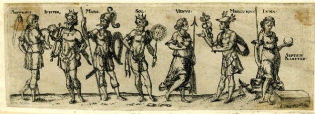 7 pagan deities - latin etc