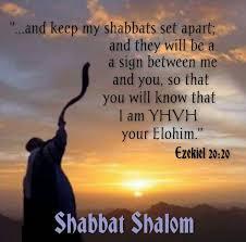 Ezekiel on Sabbath