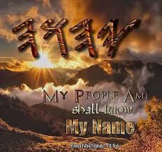 My name my people shall know - experience
