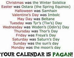 Pagan Calendar.Pagan Calendar Thehebrewmessiah Com
