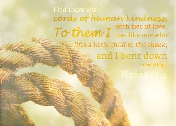 Hosea11-4