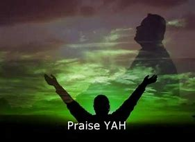 man praising YH