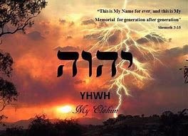 YHWH is my name says Elohiym of Israel