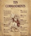 10 Commandms Moses holds them