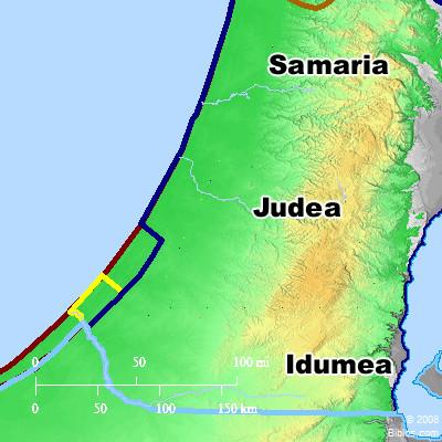 judean map