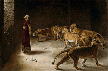 Daniel and lions 2