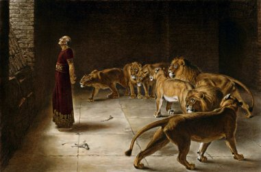 Daniel and lions 2