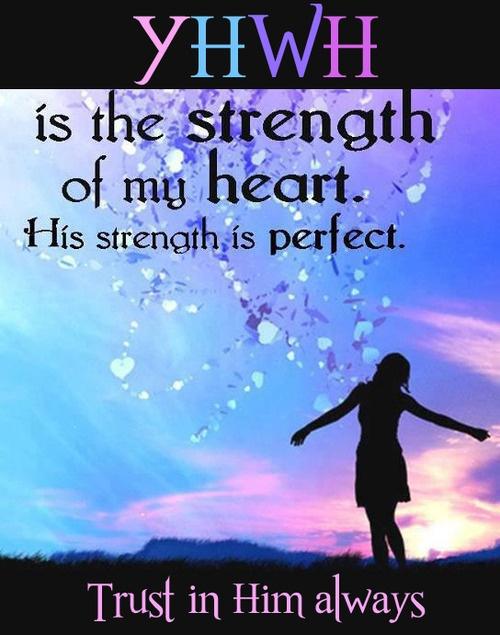 YH is my strength