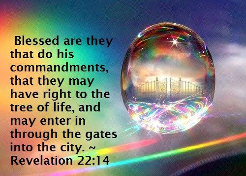blessed commandmentdoers