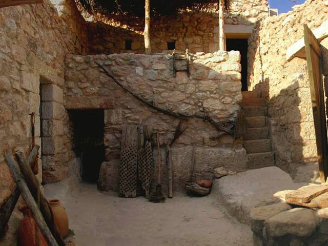 typical israeli 1st cent home