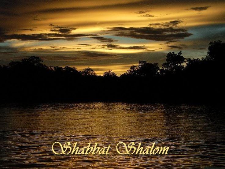 Sunset waters Sabbath