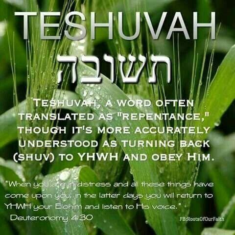 Teshuvah