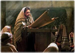 YH'shua in synagogue