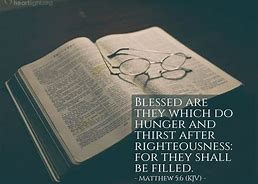 Mat 5-6 blessed are those who hunger