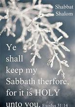 Exod 31-14 winter sabbath