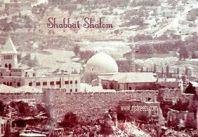 Shabbat snowy Jerusalem