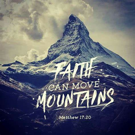 Mat17-10 faith can move mountains